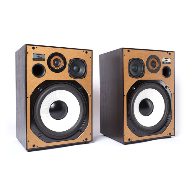 Wesley & Kemp: Model CS112 Full Range Speakers - Black (Pair)