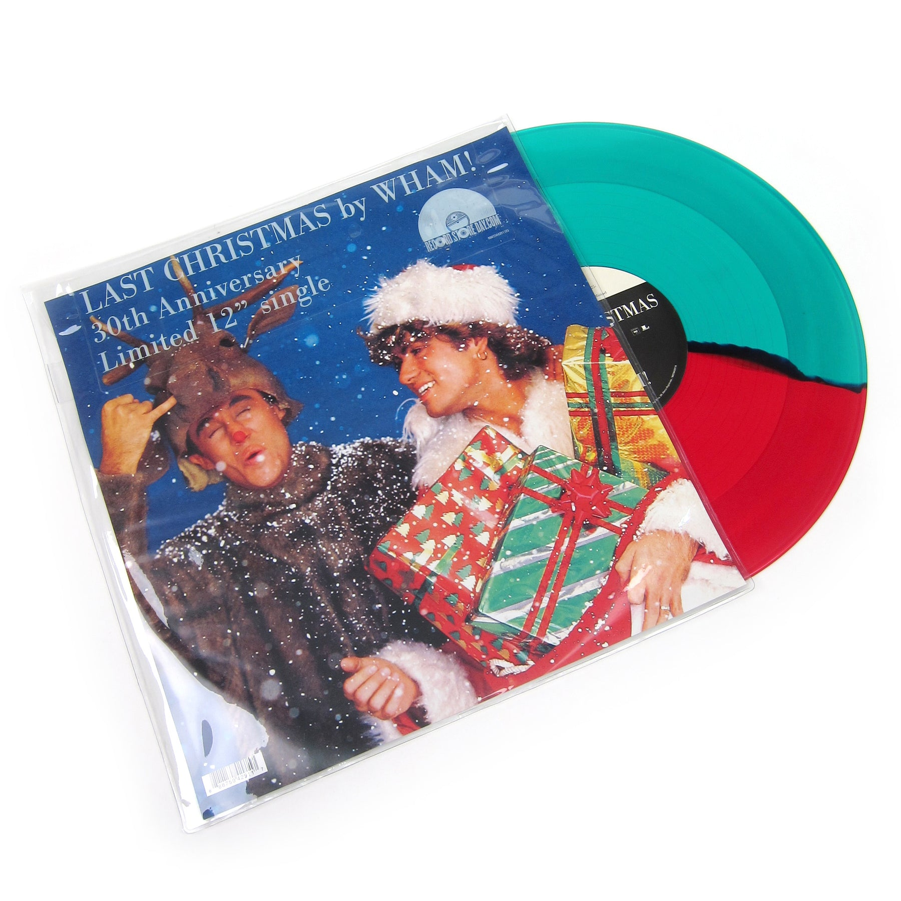 wham last christmas split colored vinyl vinyl 12 record store day - Last Christmas By Wham