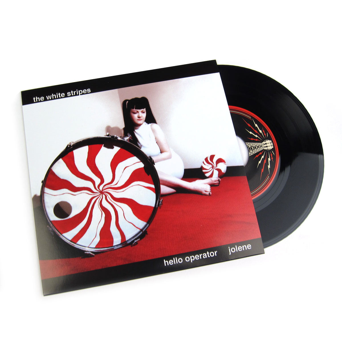 The White Stripes: Hello Operator / Jolene Vinyl 7""
