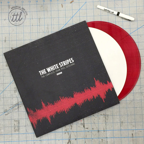The White Stripes: The Complete Peel Sessions BBC (Colored Vinyl) Vinyl 2LP