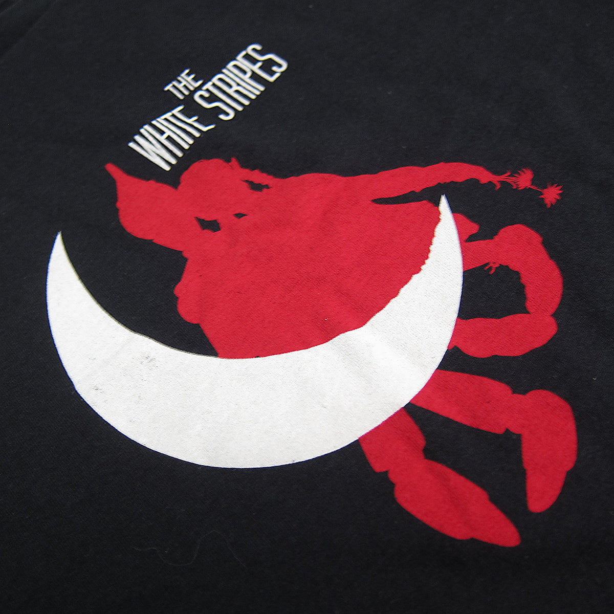 The White Stripes: Paper Moon Shirt - Black