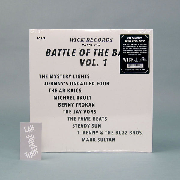 Wick Records: Battle Of The Bands Vol.1 (Colored Vinyl) Vinyl LP (Record Store Day)