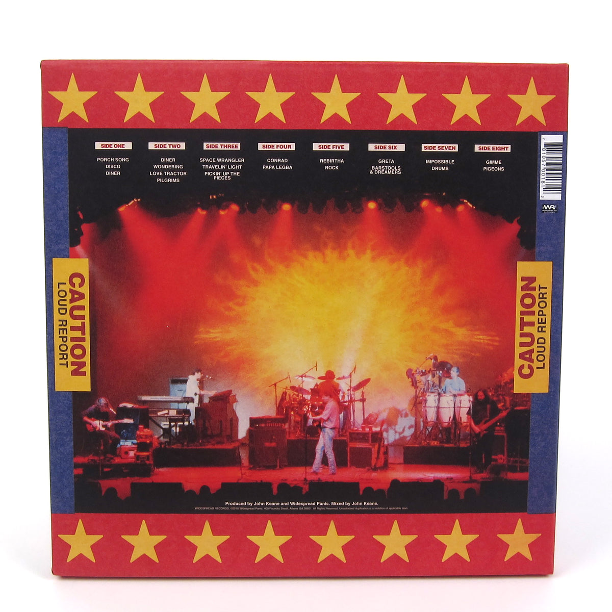 Widespread Panic: Light Fuse Get Away Vinyl 4LP Boxset
