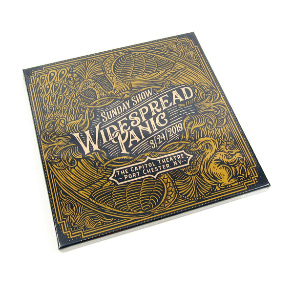 Widespread Panic: Sunday Show - The Capitol Theatre, Port Chester NY 3/24/19 Vinyl 5LP Boxset