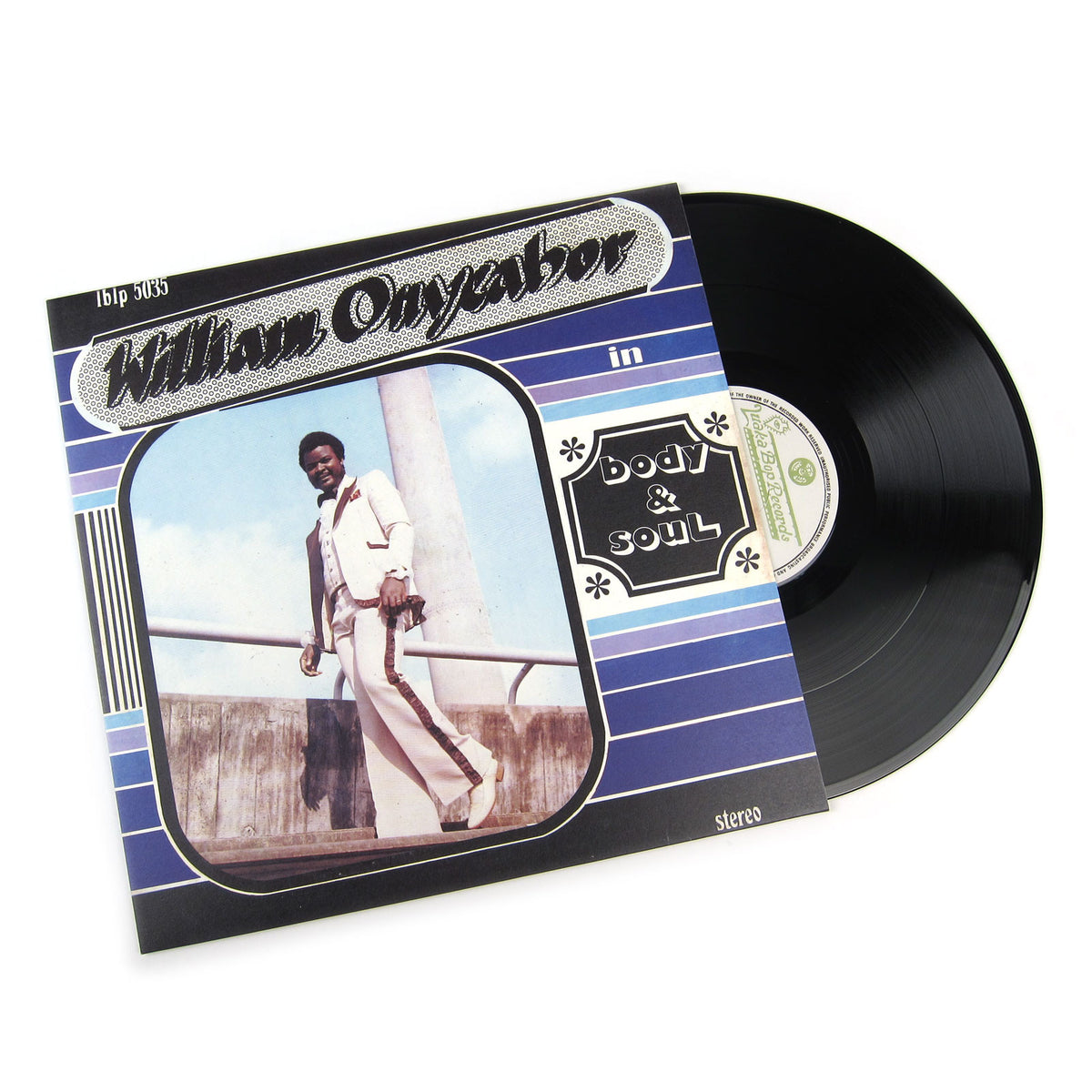 William Onyeabor: Body & Soul Vinyl LP