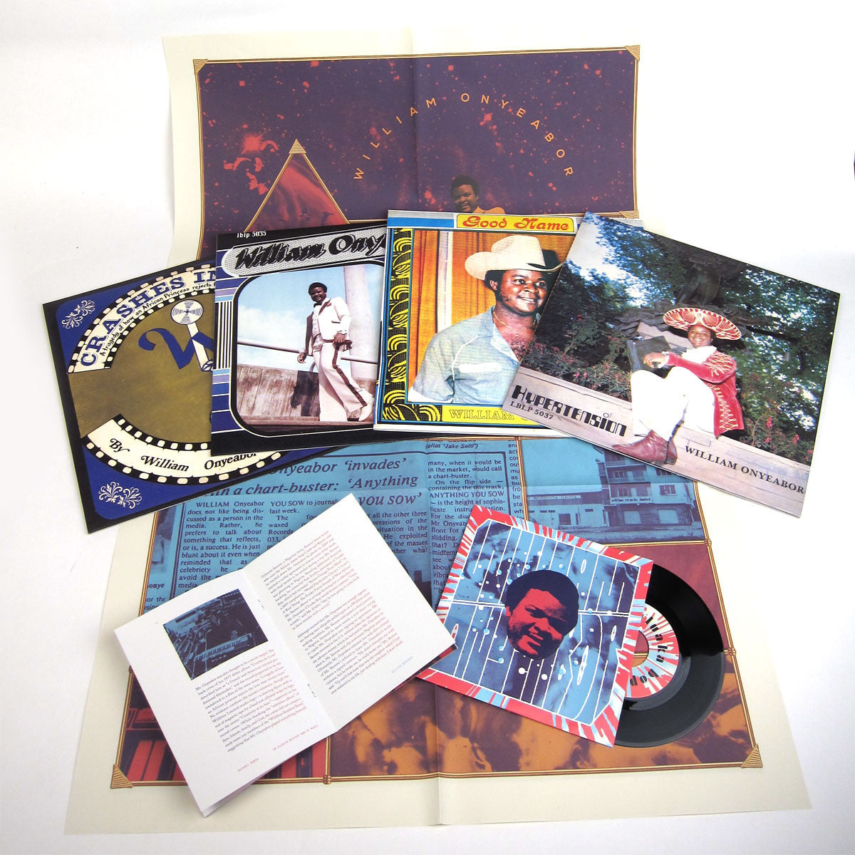 William Onyeabor: Volume 2 Vinyl LP Boxset detail