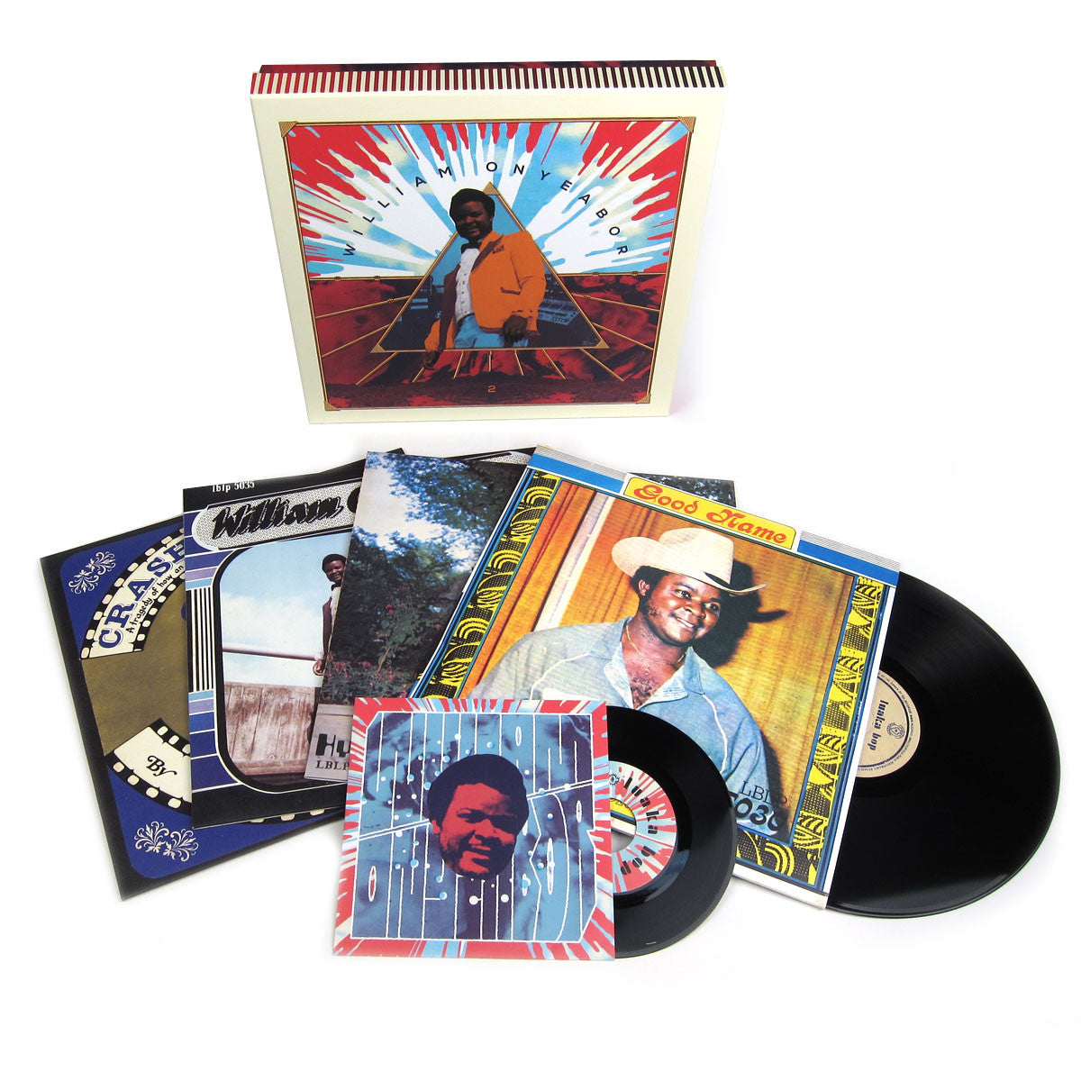 William Onyeabor: Volume 2 Vinyl LP Boxset