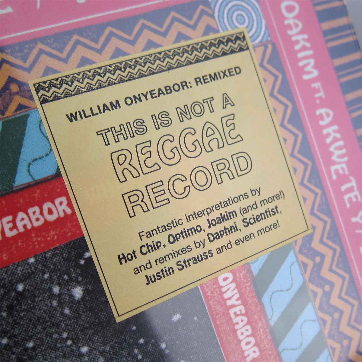 Onyeabor, William: What?! Vinyl 2LP (Record Store Day 2014) 2