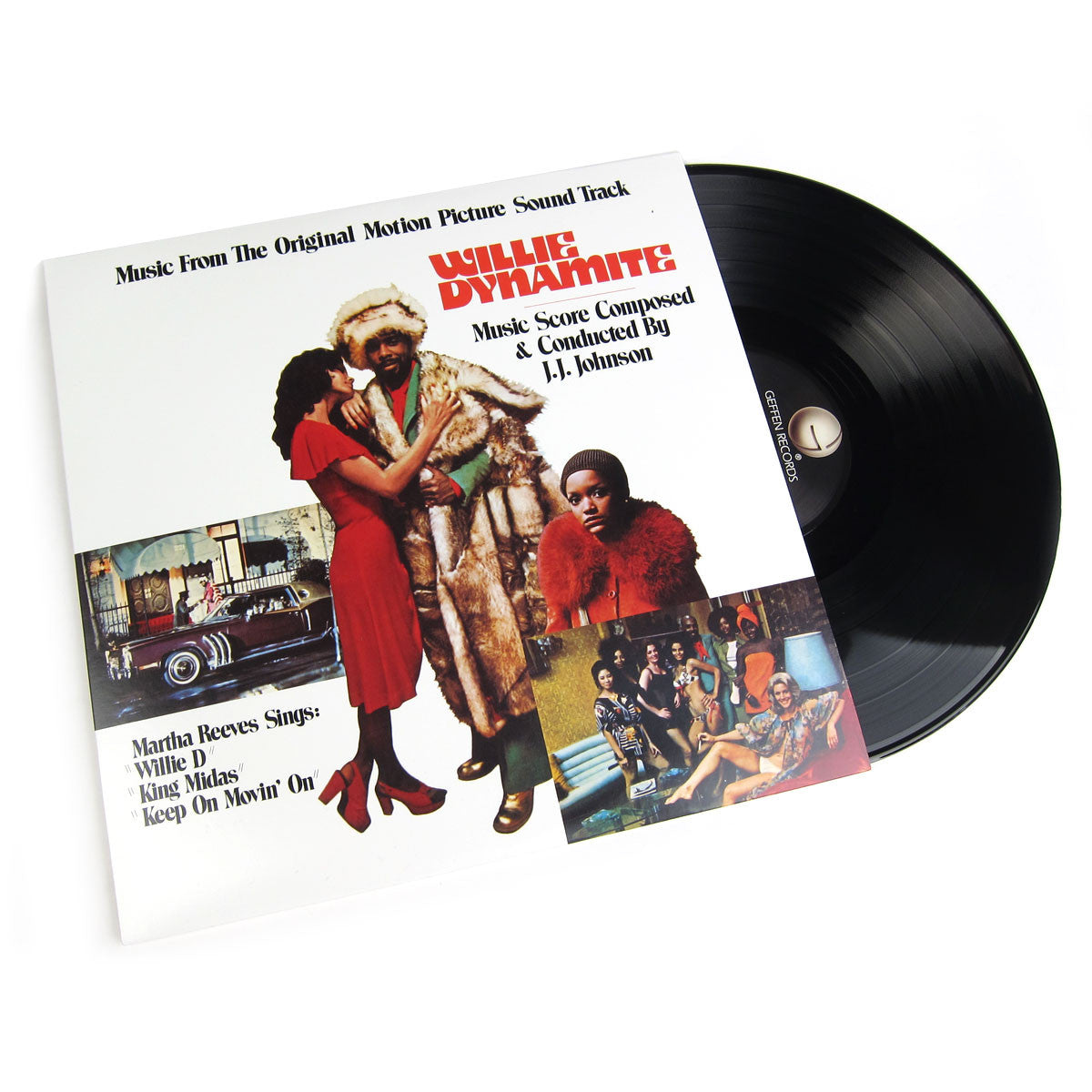 J.J. Johnson: Willie Dynamite OST (Pinky Ring) Vinyl LP
