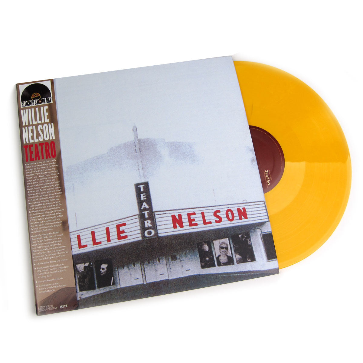 Willie Nelson: Teatro (Gold Vinyl) Vinyl 2LP (Record Store Day)