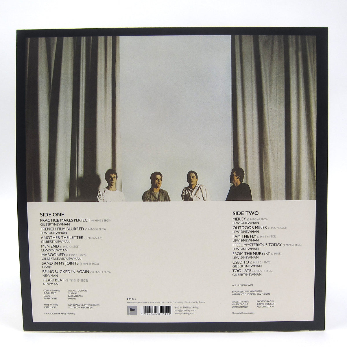 Wire: Chairs Missing Vinyl LP
