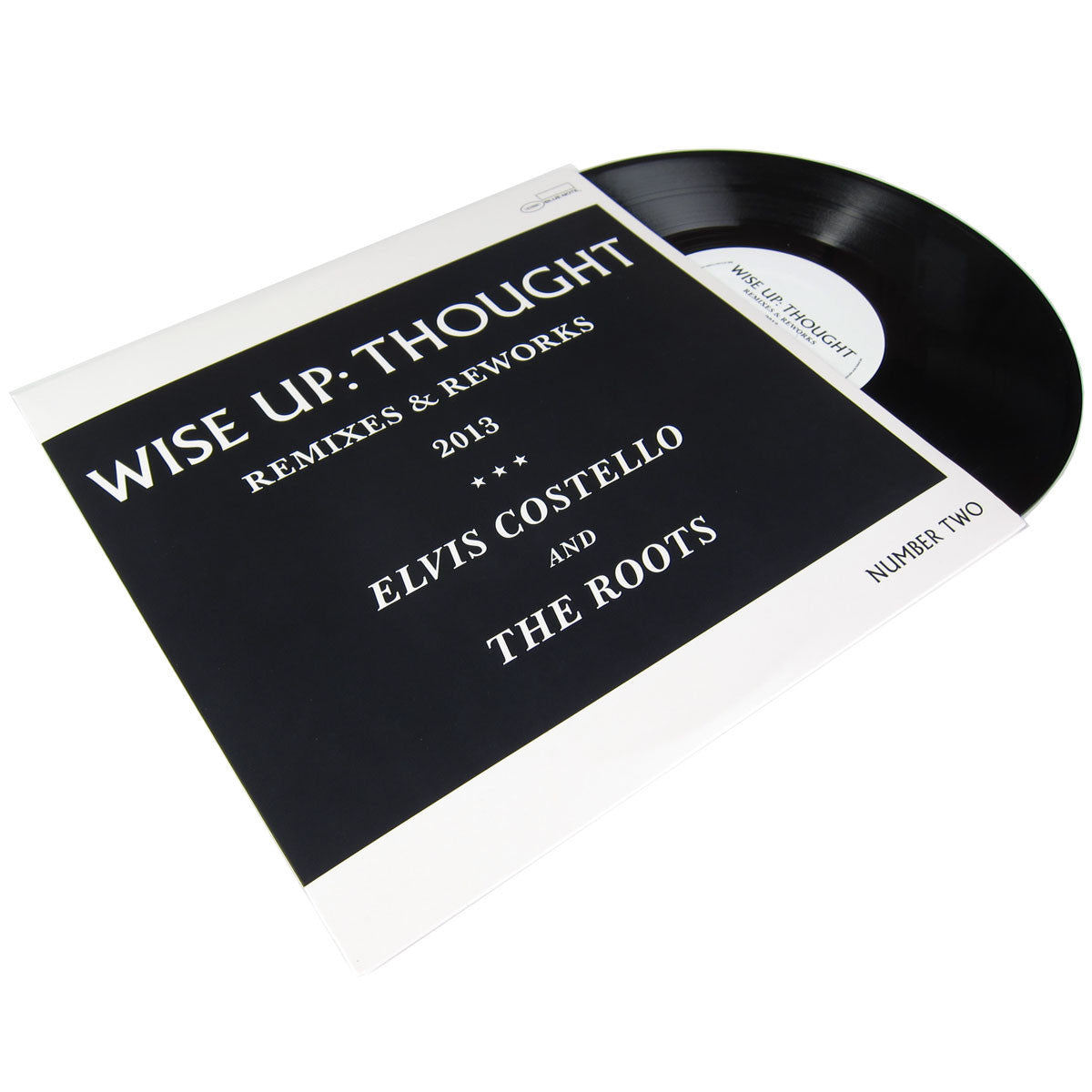 Elivis Costello and The Roots: Wise Up - Thought Remixes & Reworks (Karriem Riggins, Menahan Street Band) Vinyl 10""