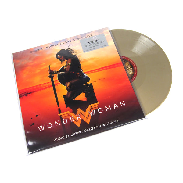 Rupert Gregson-Williams: Wonder Woman Soundtrack (Music On Vinyl 180g, Colored Vinyl) Vinyl 2LP