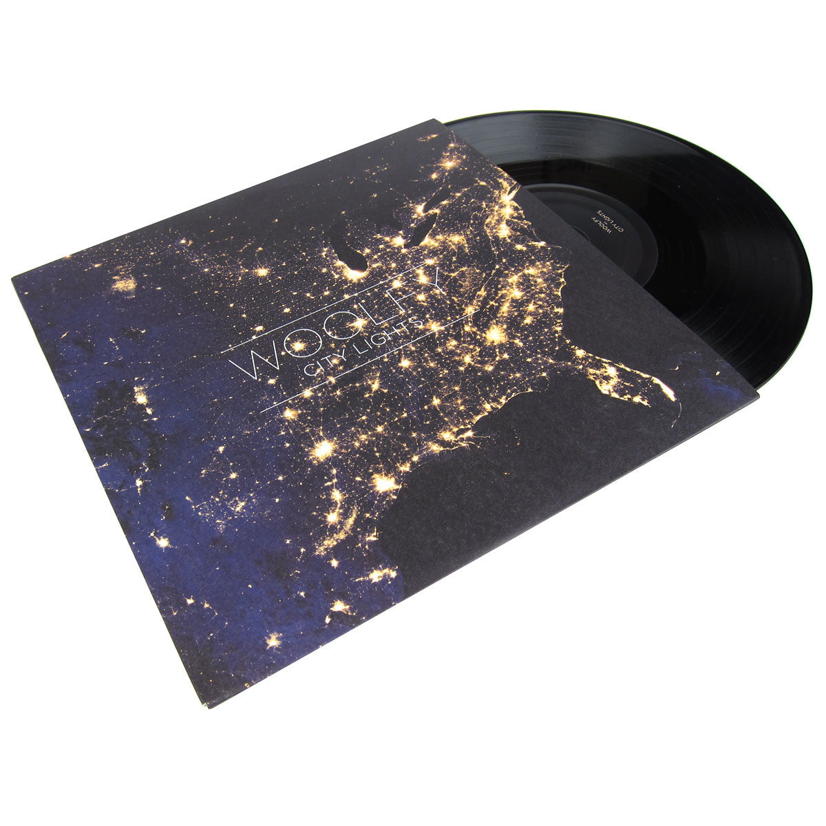 Woolfy: City Lights (Free MP3) Vinyl 10""