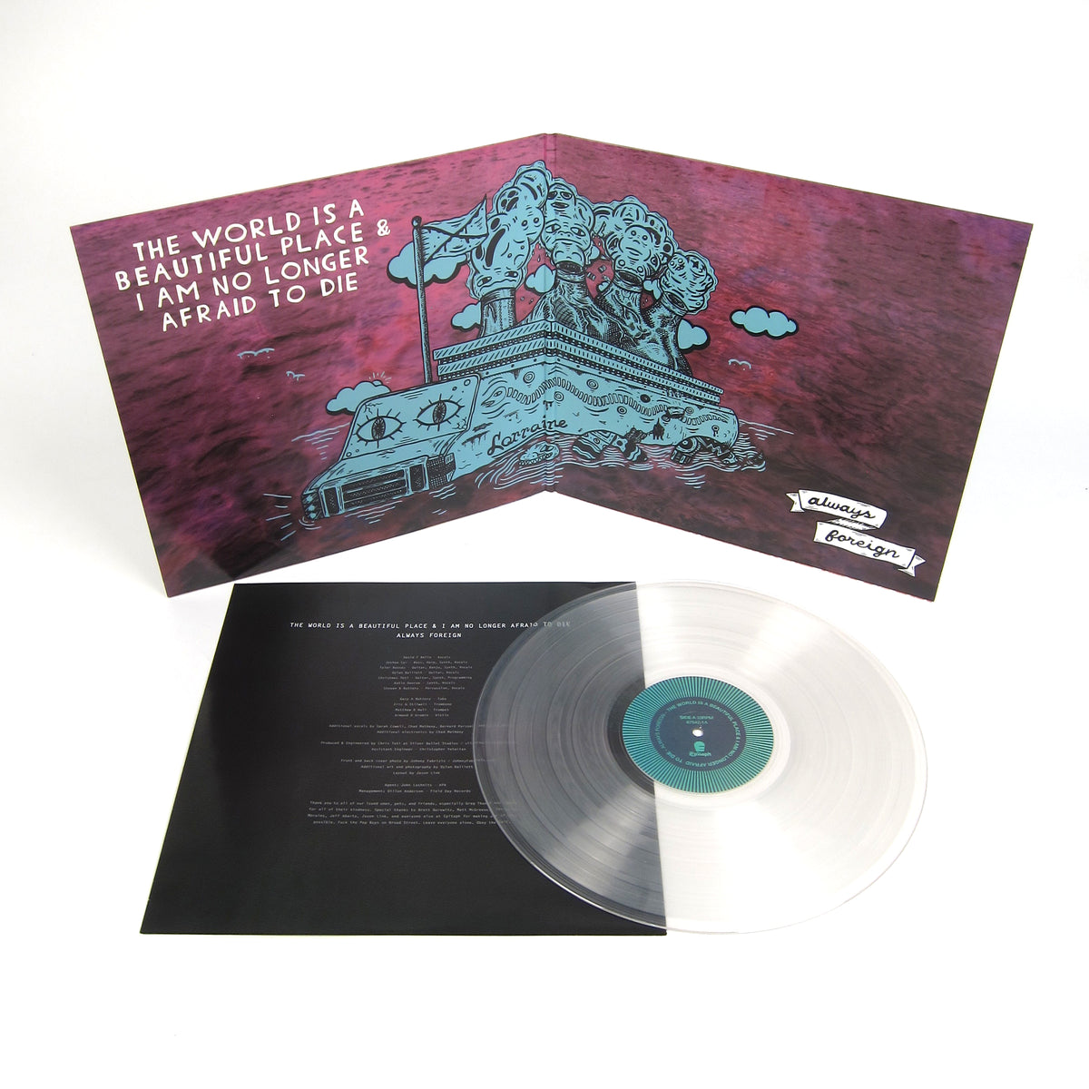 The World Is A Beautiful Place & I Am No Longer Afraid To Die: Always Foreign (Indie Exclusive Colored Vinyl) Vinyl LP