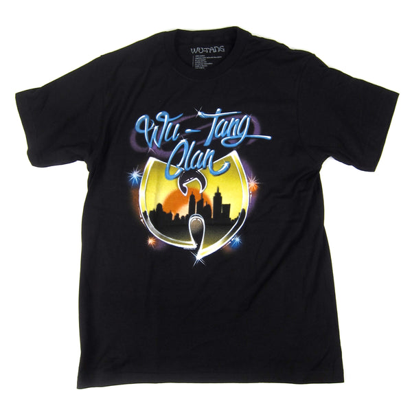 Wu-Tang Clan: Airbrush Logo Shirt - Black