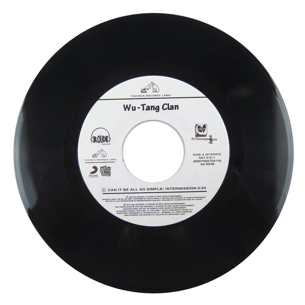 Wu-Tang Clan: Can It Be All So Simple / Da Mystery Of Chessboxin Vinyl 7""