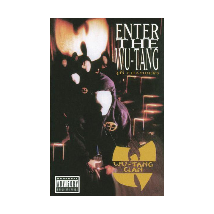 Wu-Tang Clan: Enter The Wu-Tang Clan 36 Chambers Cassette (Record Store Day)