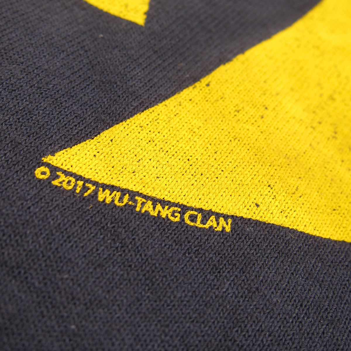 Wu-Tang Clan: Distressed Classic Logo Shirt - Black