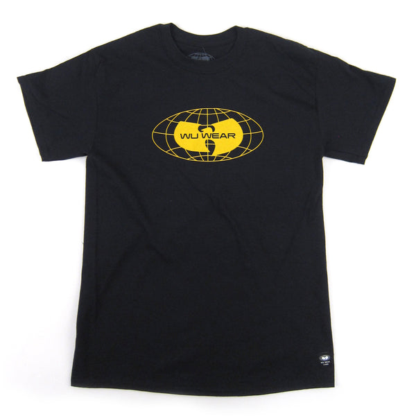 Wu Wear: Globe Logo Shirt - Black