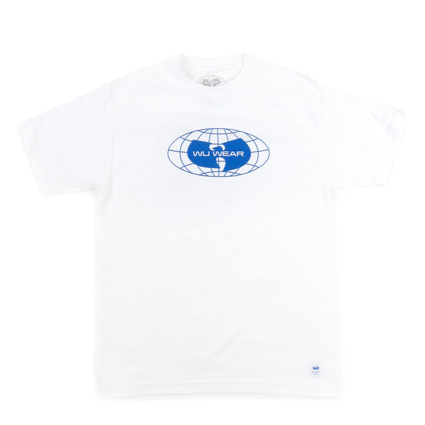 Wu Wear: Globe Logo Shirt - White
