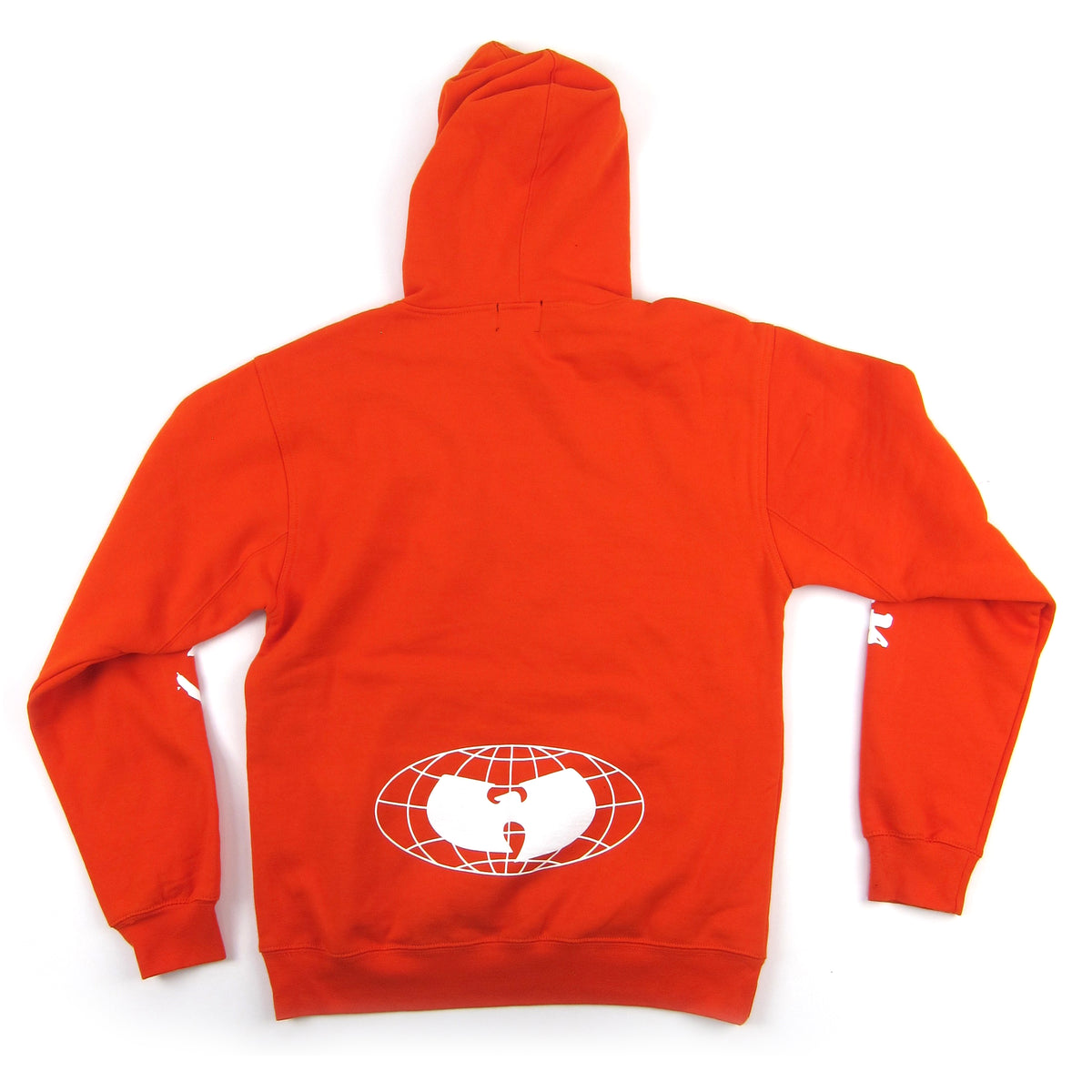 Wu Wear: Shaolin Vs. Wu-Tang Hoodie - Orange