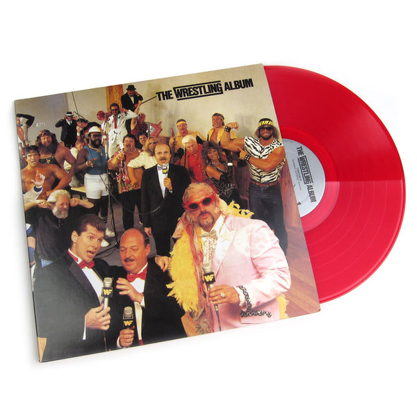 WWF: The Wrestling Album + Piledriver (Colored Vinyl) Vinyl 2LP (Record Store Day)