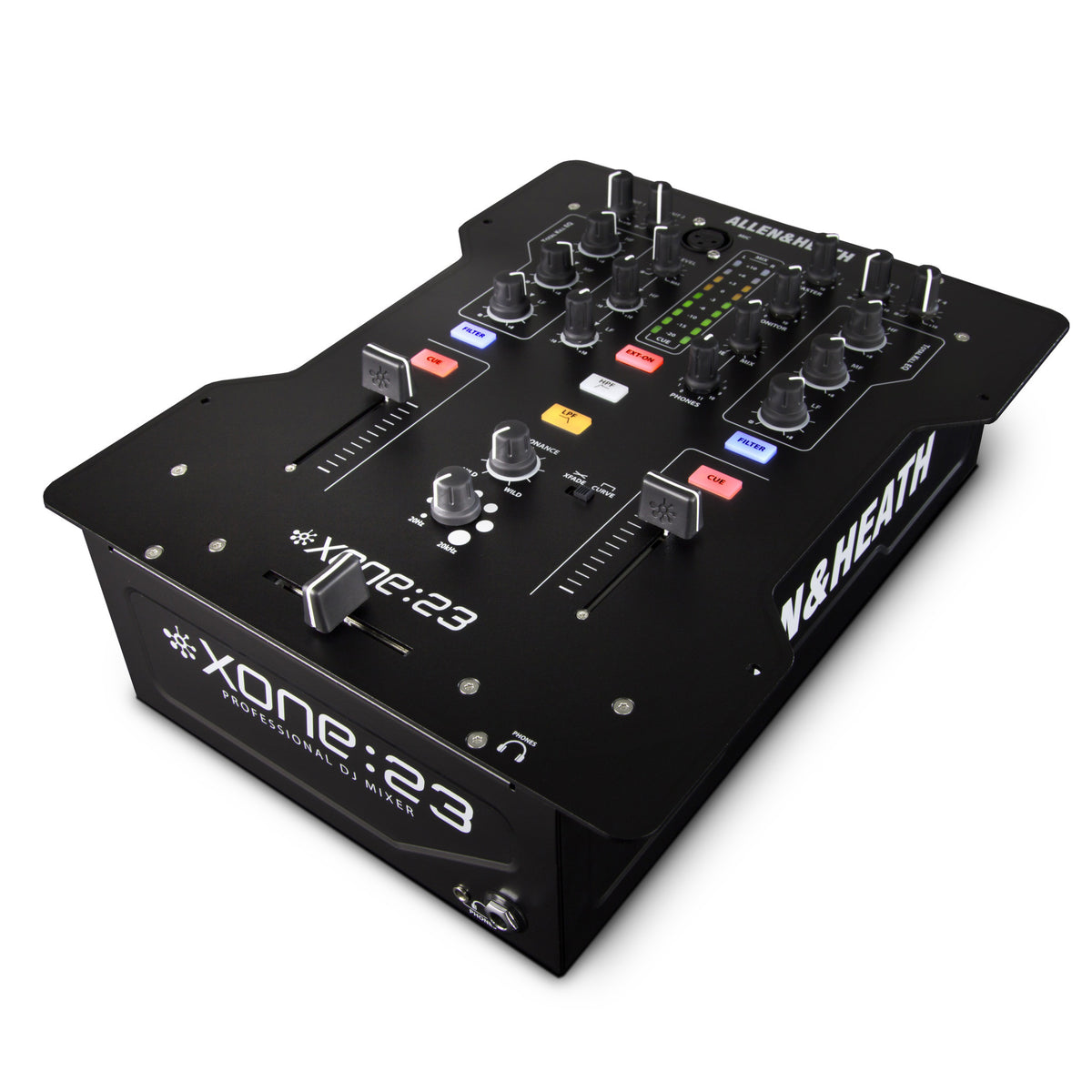 llen & Heath: Xone:23 Mixer - Angle