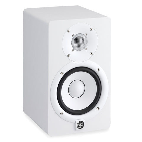 Yamaha: HS5 Active Monitor Speaker - White w/ Free Hosa XLR Cable