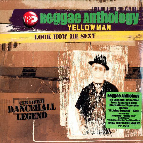 Yellowman: Look How Me Sexy Anthology 2LP