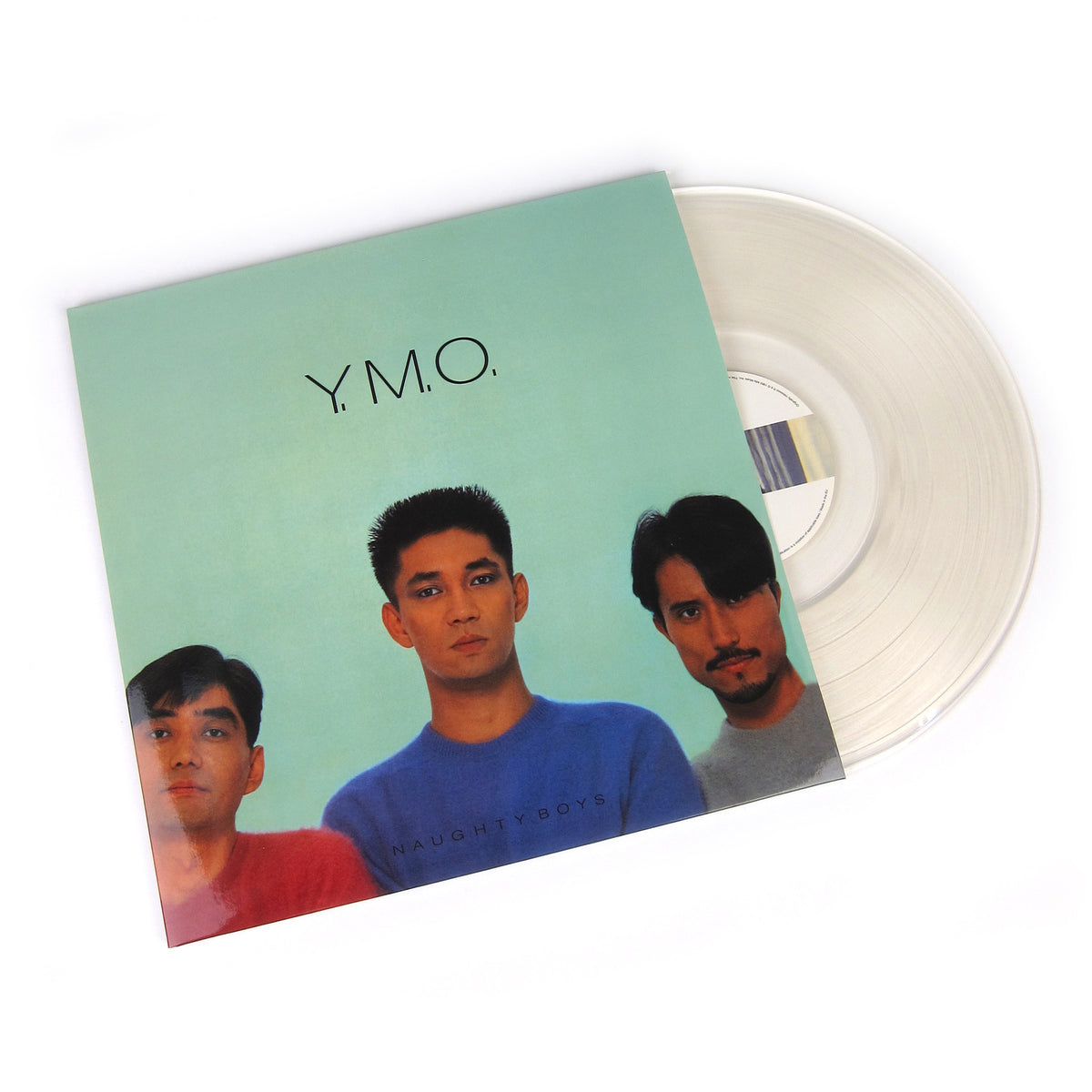 Yellow Magic Orchestra: Naughty Boys & Naughty Boys Instrumental (180g, Colored Vinyl) Vinyl 2LP