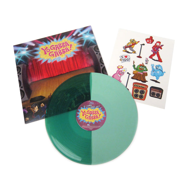Yo Gabba Gabba: Yo Gabba Gabba! Hey! (Brobee Colored Vinyl) Vinyl LP - TTL Exclusive