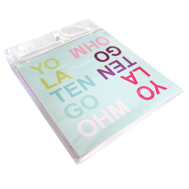 Yo La Tengo: OHM (Shower Curtain Pack, Free MP3) 3x12' detail 2