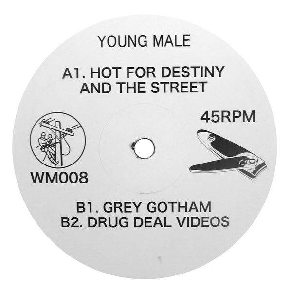 Young Male: Hot For Destiny And The Street Vinyl 12""