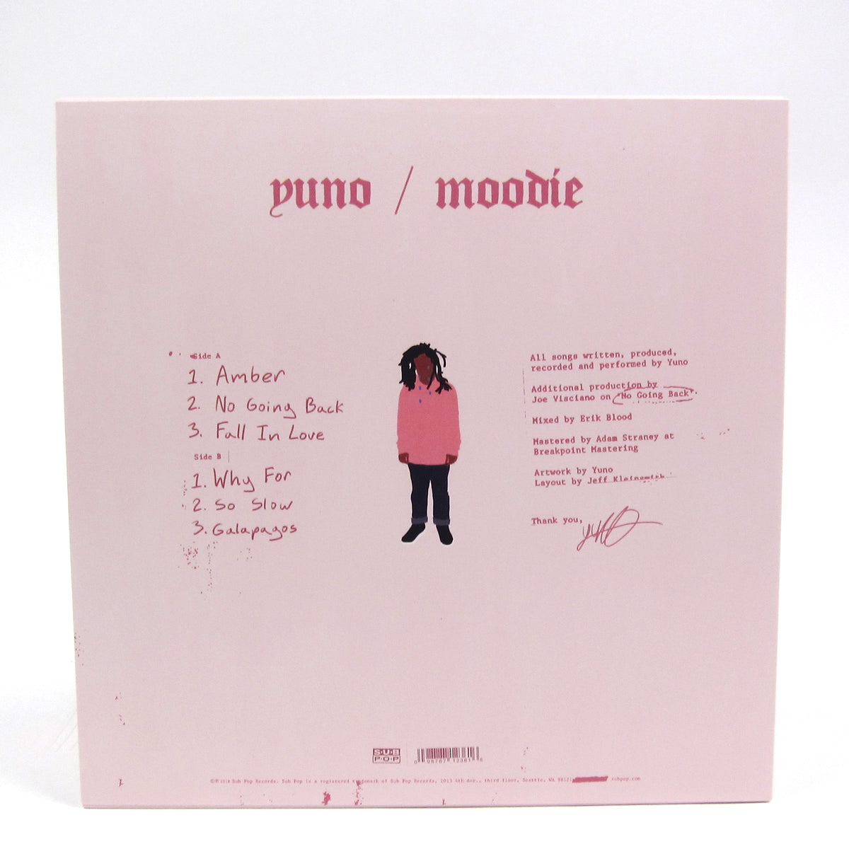 Yuno: Moodie (Loser Edition Colored Vinyl) Vinyl LP