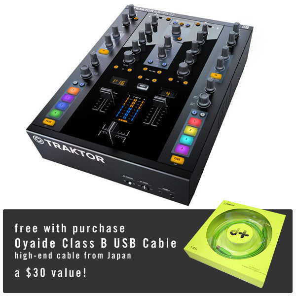 Native Instruments: Traktor Kontrol Z2 Control Mixer + Free Oyaide USB Cable