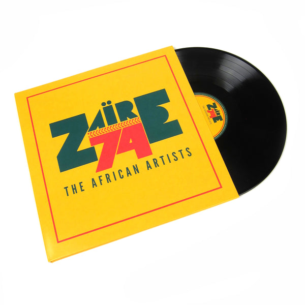 Wrasse Records: Zaire 74 - The African Artists (180g) Vinyl 3LP