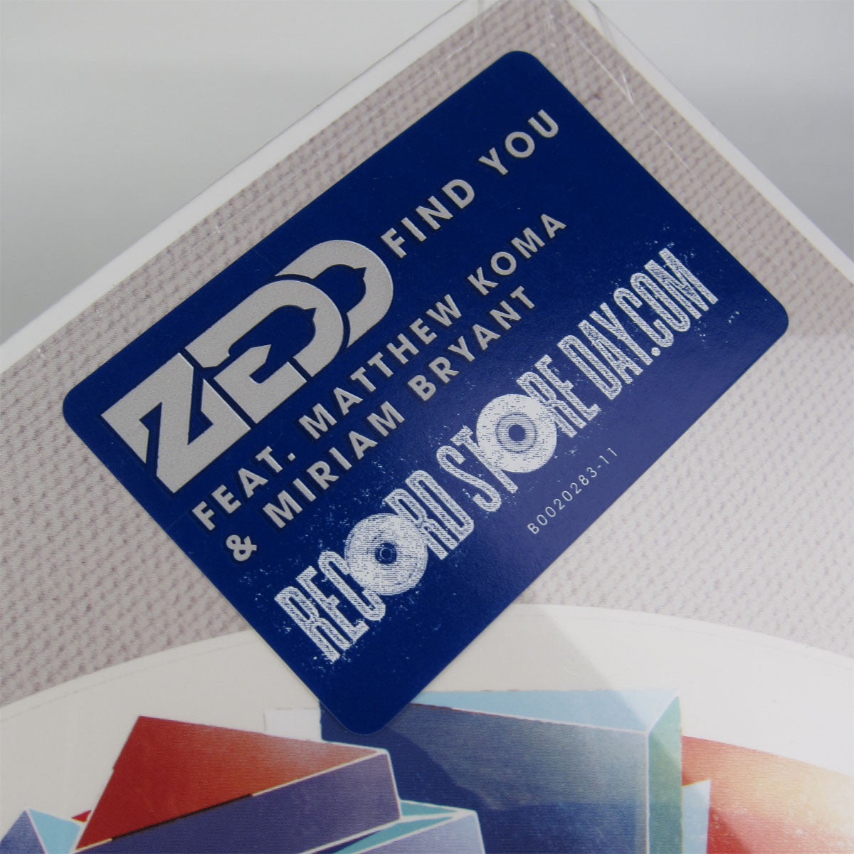 "Zedd: Find You Vinyl 12"" (Record Store Day 2014) 2"