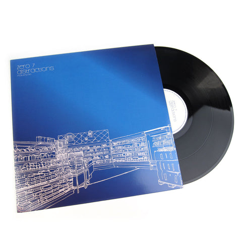 Zero 7: Distractions Vinyl (Bugz In The Attic, Madlib, DJ Spinna) Vinyl 12""
