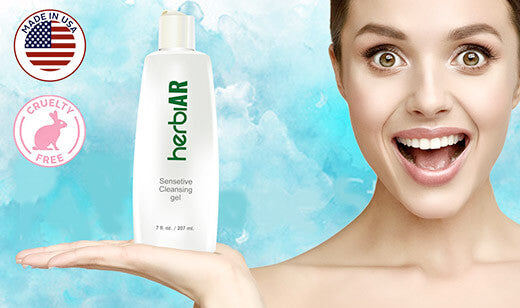 Easy Tips to Keep Sensitive Skin Healthy Using Herbiar Cleansing Gel