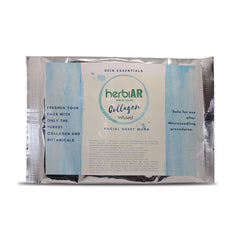 Collagen Infused Facial Sheet Mask - Herbiar