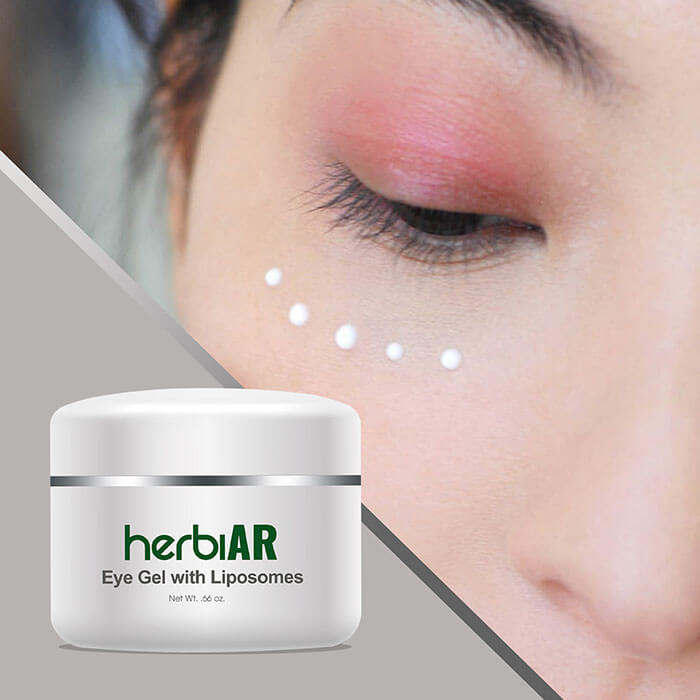 Eye gel for anti-aging effects