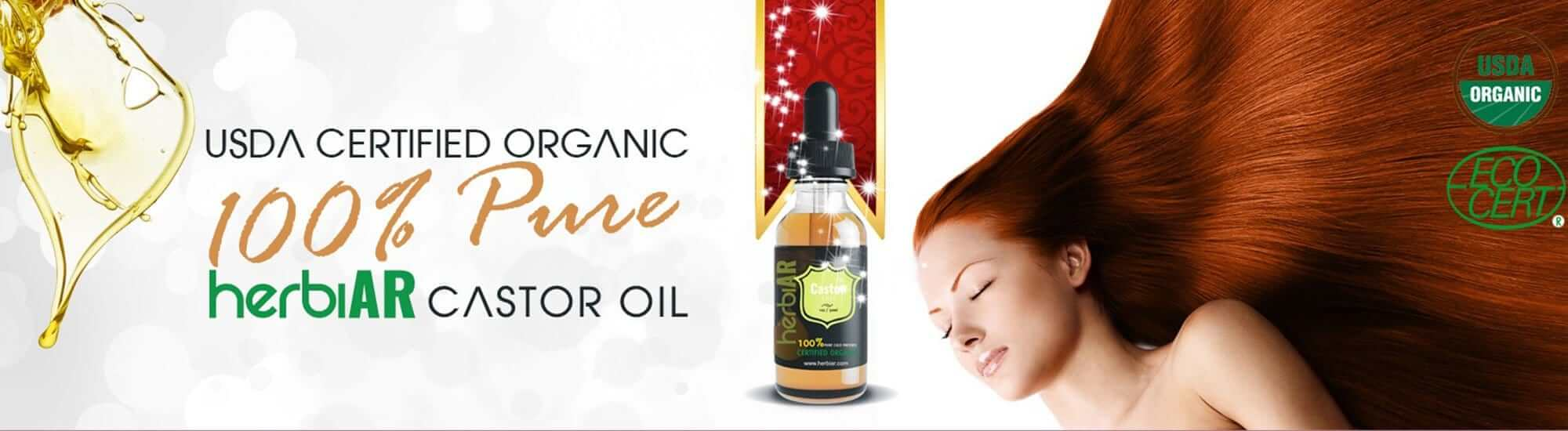 usda certified organic 100% pure hexane-free castor oil for hair growth