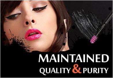 Maintained Quality and Purity of Mascara