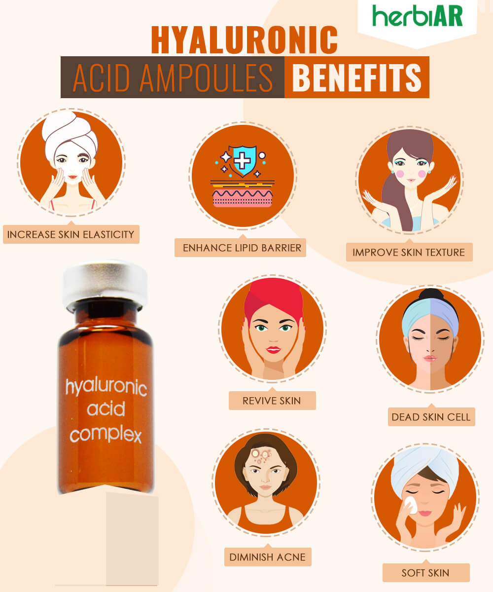 hyaluronic acid ampoules benefits