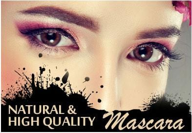 Natural and High Quality Mascara