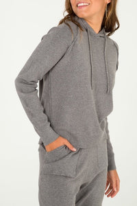 Grey Knitted Loungewear Set