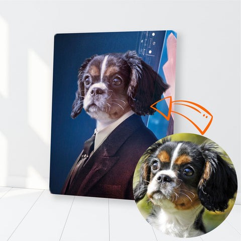 Image of Custom Pet Canvas, Detective