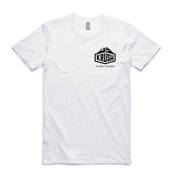 KRUSH 'Van' Tee - White