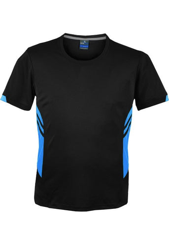 Tasman Training T-Shirt - Black/Cyan